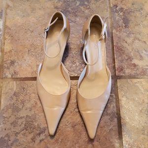 Camel colour Kitten heel